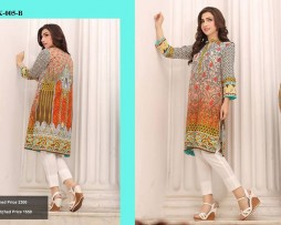 Un-stitched Embroidered Lawn Tunics FC-K-005-B