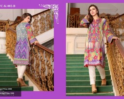 Un-stitched Embroidered Lawn Tunics FC-K-002-B
