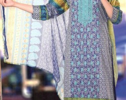 3 Piece Un-Stitched Chiffon Embroidered Lawn VS-VOL-3-4A