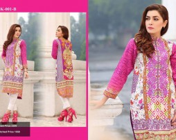 Un-stitched Embroidered Lawn Tunics FC-K-001-B