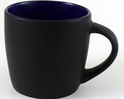 Black Ceramic Mugs for Corporate Branding