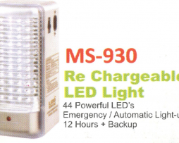 Rechargeable LED Light MS-930