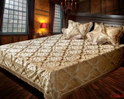 High Quality Jacquard Bed Cover SQ203