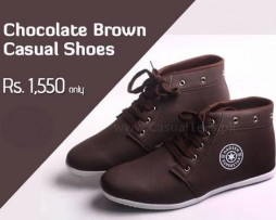 Chocolate Brown Casual Shoes