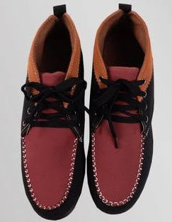 Black Twin Color Smart Casual Shoe