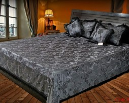 High Quality Jacquard Bed Cover SQ206
