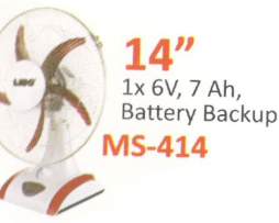 Rechargeable Fan MS-414