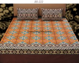 Cotton Rich Bed Sheet-BS-222