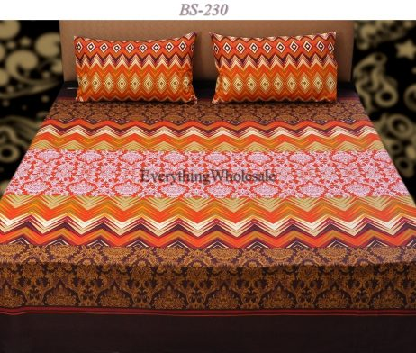 Cotton Rich Bed Sheet-BS-230