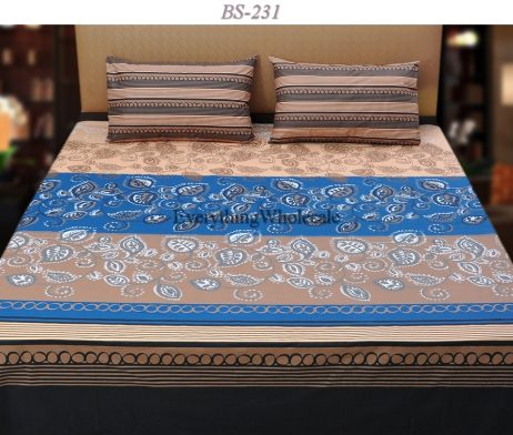 Cotton Rich Bed Sheet-BS-231