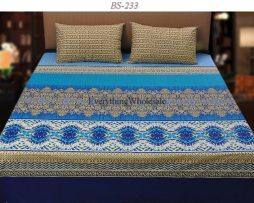Cotton Rich Bed Sheet-BS-233