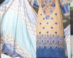 3 Piece Un-Stitched Chiffon Embroidered Lawn VS-VOL-3-5A