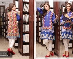 Un-stitched Embroidered Lawn Tunics FC-K-003-A