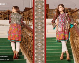 Un-stitched Embroidered Lawn Tunics FC-K-002-A