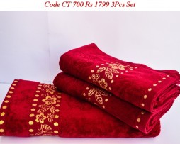 Velour Towel Set-CT 700