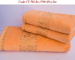 Velour Towel Set-CT 702