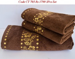 Velour Towel Set-CT 705