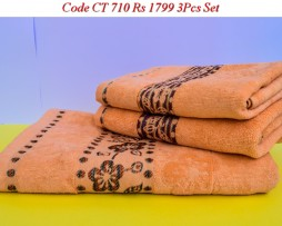 Velour Towel Set-CT 710
