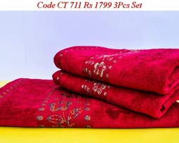 Velour Towel Set-CT 711