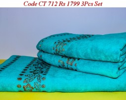 Velour Towel Set-CT 712