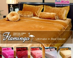 Flamingo Bed Cover PM107