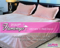 Flamingo Bed Cover PM108