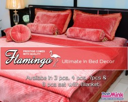 Flamingo Bed Cover PM110
