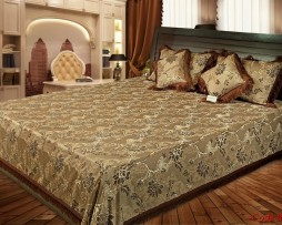 High Quality Jacquard Bed Cover SQ208