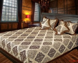 High Quality Jacquard Bed Cover SQ205