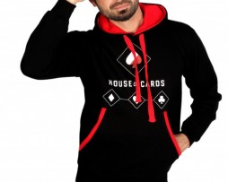 House of Cards Black Hoodie