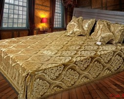 High Quality Jacquard Bed Cover SQ202
