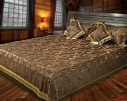 High Quality Jacquard Bed Cover SQ20