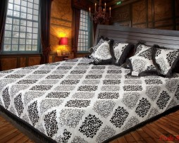 High Quality Jacquard Bed Cover SQ204