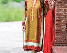 Semi Stitched Linen Collection AIC-207