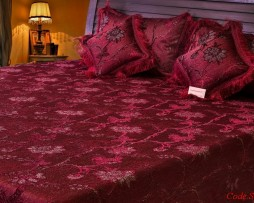 High Quality Jacquard Bed Cover SQ209
