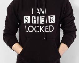 I Am Sherlocked Charcoal Black Hoodie