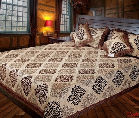 High Quality Jacquard Bed Cover SQ210