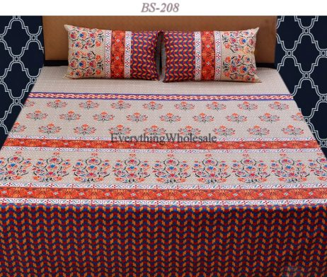 Cotton Rich Bed Sheet-BS-208