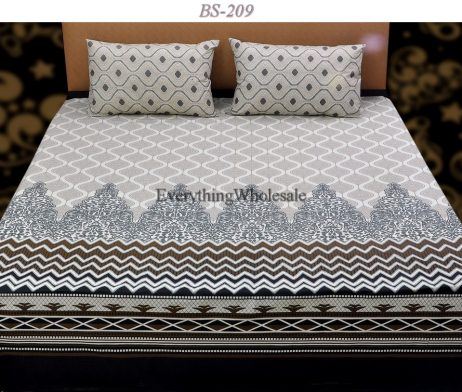 Cotton Rich Bed Sheet-BS-209