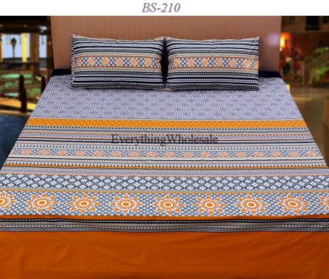 Cotton Rich Bed Sheet-BS-210