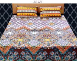 Cotton Rich Bed Sheet-BS-220
