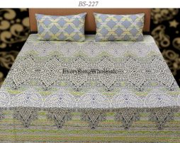 Cotton Rich Bed Sheet-BS-227
